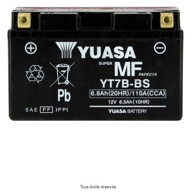 Batterie YUASA YT7B-BS sans entretien
