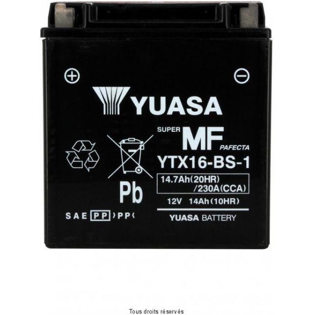 Batterie YUASA YTX16-BS-1 sans entretien