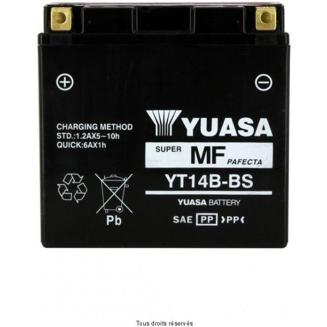 Batterie YUASA YT14B-BS sans entretien