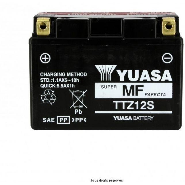 Batterie YUASA TTZ12-S sans entretien