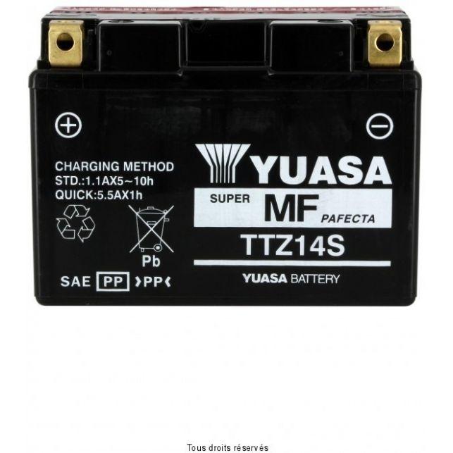 Batterie YUASA TTZ14-S sans entretien