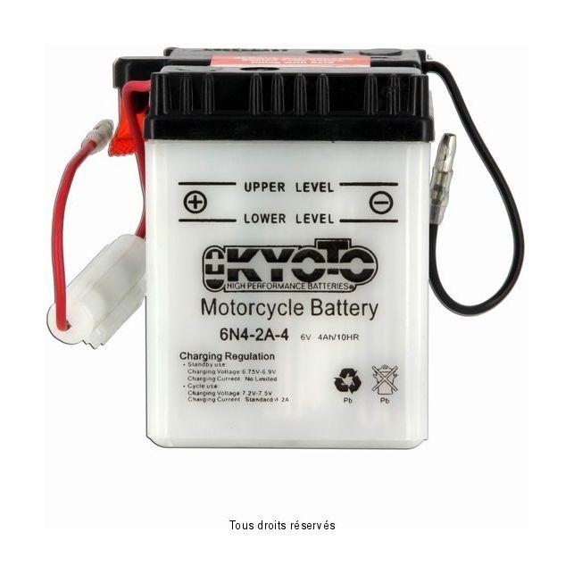 Batterie KYOTO 6N4-2A-4 avec entretien