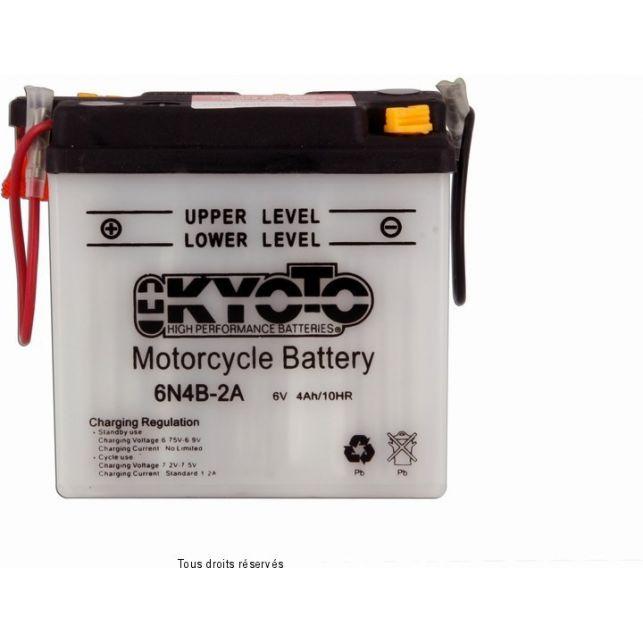 Batterie KYOTO 6N4B-2A avec entretien