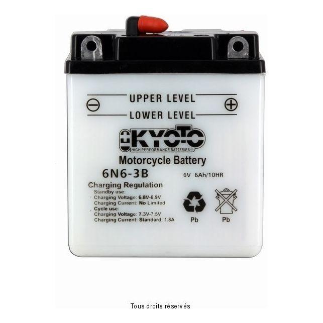 Batterie KYOTO 6N6-3B avec entretien