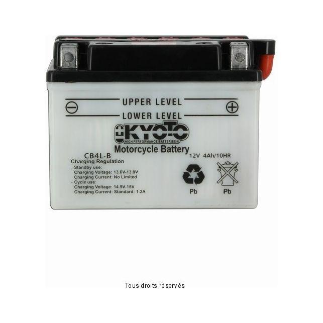 Batterie KYOTO YB4L-B avec entretien