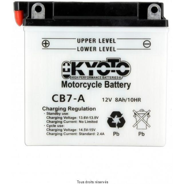 Batterie KYOTO YB7-A avec entretien