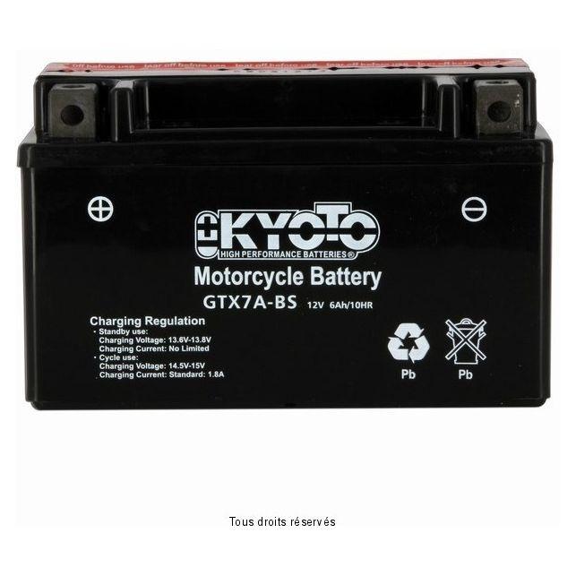 Batterie KYOTO YTX7A-BS sans entretien