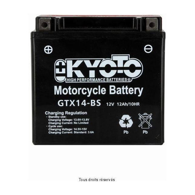 Batterie KYOTO YTX14-BS sans entretien