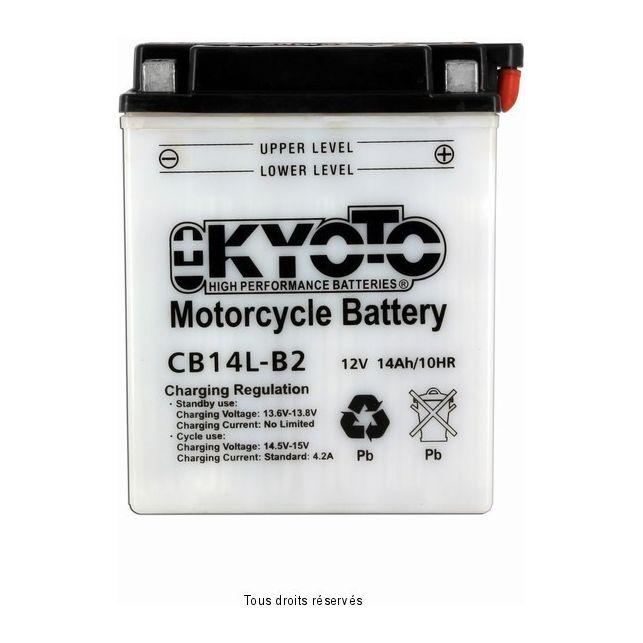 Batterie KYOTO YB14L-B2 avec entretien