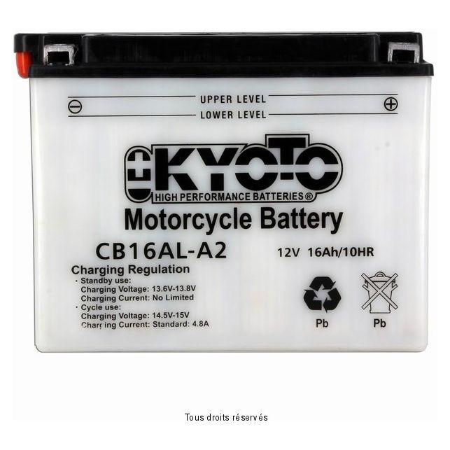 Batterie KYOTO YB16AL-A2 avec entretien