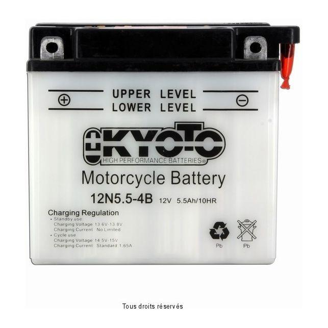 Batterie KYOTO 12N5.5-4B avec entretien