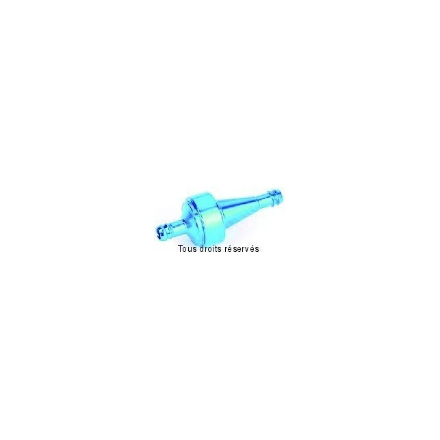 Filtre à essence Métal KYOTO Bleu Ø6mm