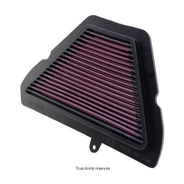 Filtre à air Lavable K&N TB-1005