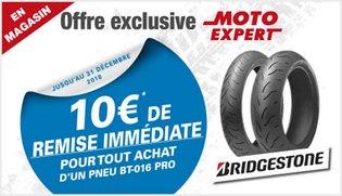 Offre exclusive Moto Expert BT-016 PRO Bridgestone