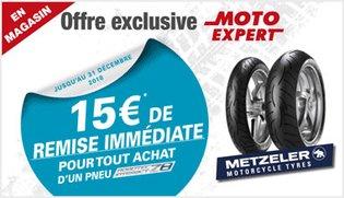 Offre exclusive Moto Expert Z8 Metzeler