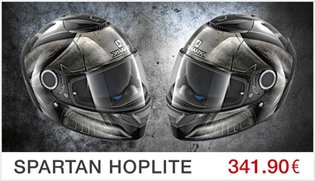 Casque Shark Spartan Hoplite