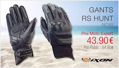Gants IXON RS HUNT noir