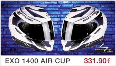 Casque Scorpion EXO-1400 Air Cup