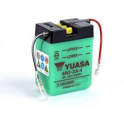 Batterie YUASA 6N2-2A-4 avec entretien