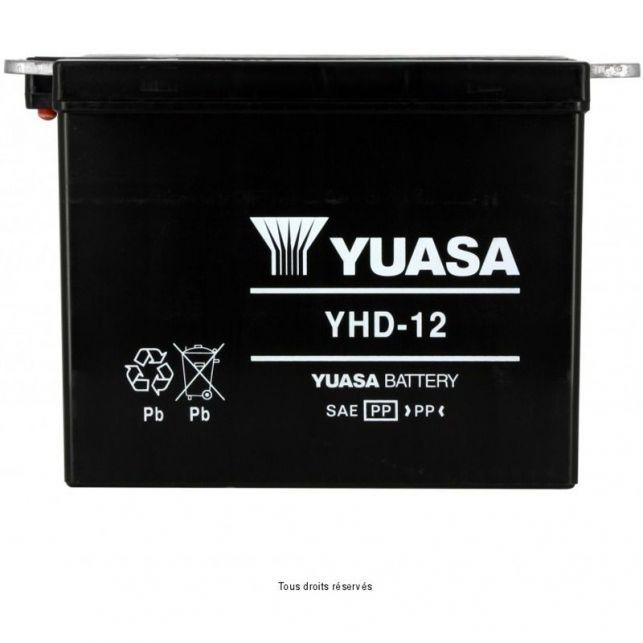 Batterie YUASA YHD-12 avec entretien