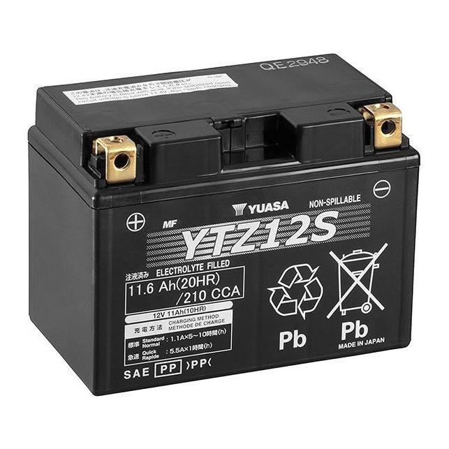 Batterie YUASA YTZ12-S sans entretien