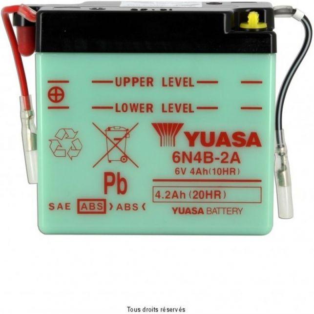 Batterie YUASA 6N4B-2A avec entretien