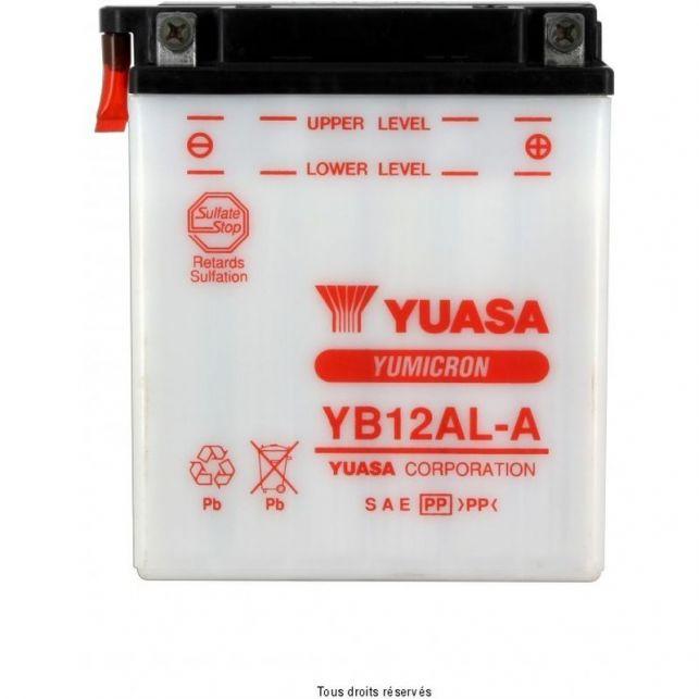 Batterie YUASA YB12AL-A avec entretien
