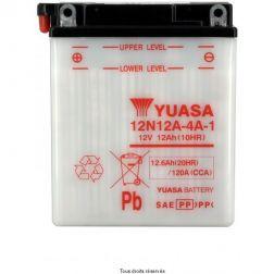 Batterie YUASA 12N12A-4A-1 avec entretien