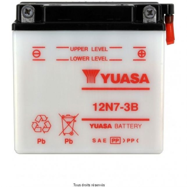Batterie YUASA 12N7-3B avec entretien