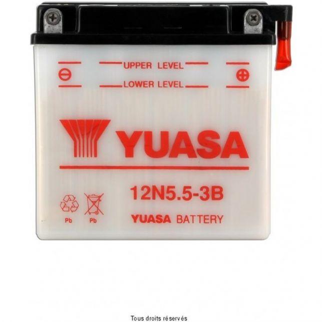 Batterie YUASA 12N5.5-3B avec entretien