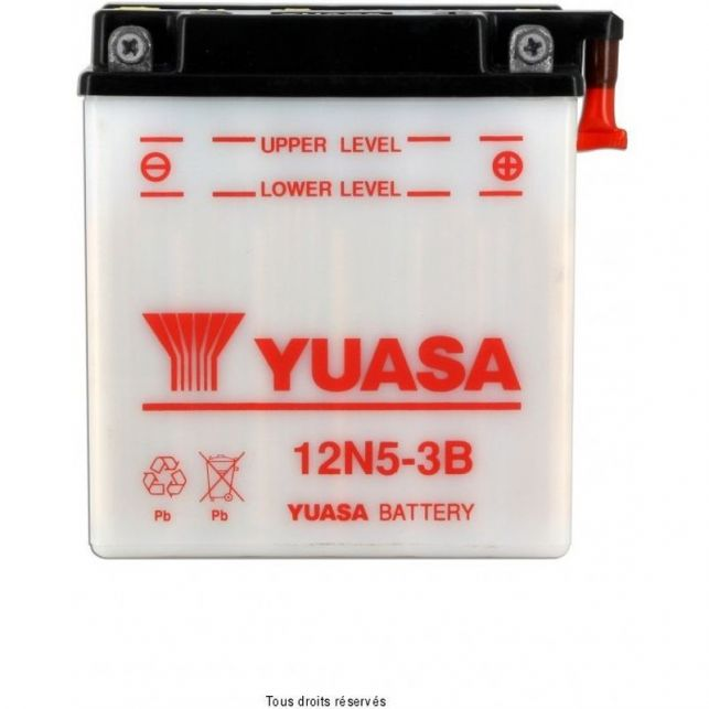 Batterie YUASA 12N5-3B avec entretien