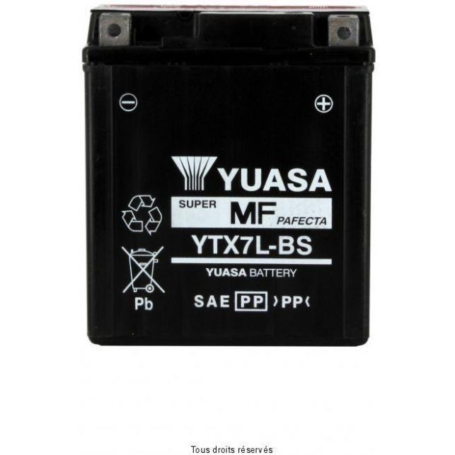 Batterie YUASA YTX7L-B sans entretien