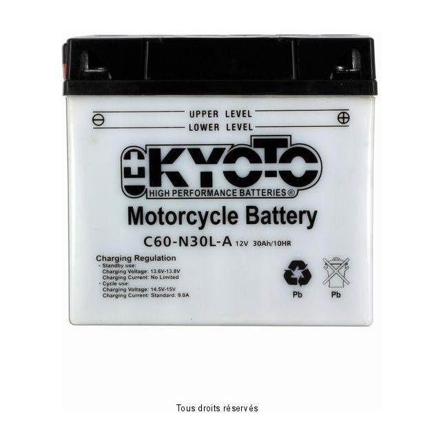 Batterie KYOTO Y60-N30L-A avec entretien