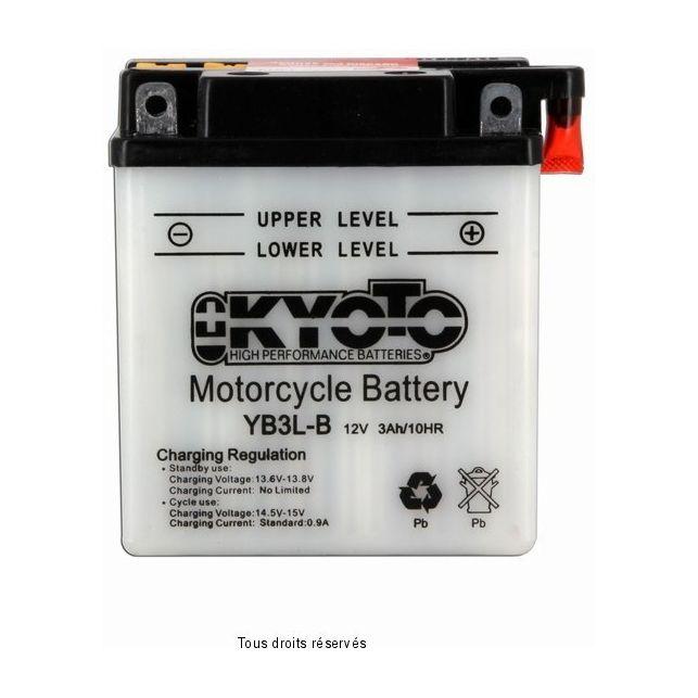 Batterie KYOTO YB3L-B avec entretien
