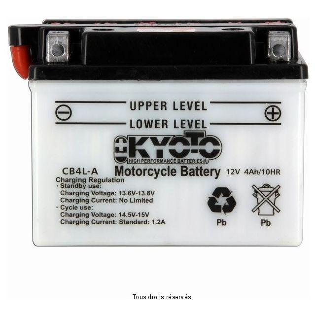 Batterie KYOTO YB4L-A avec entretien