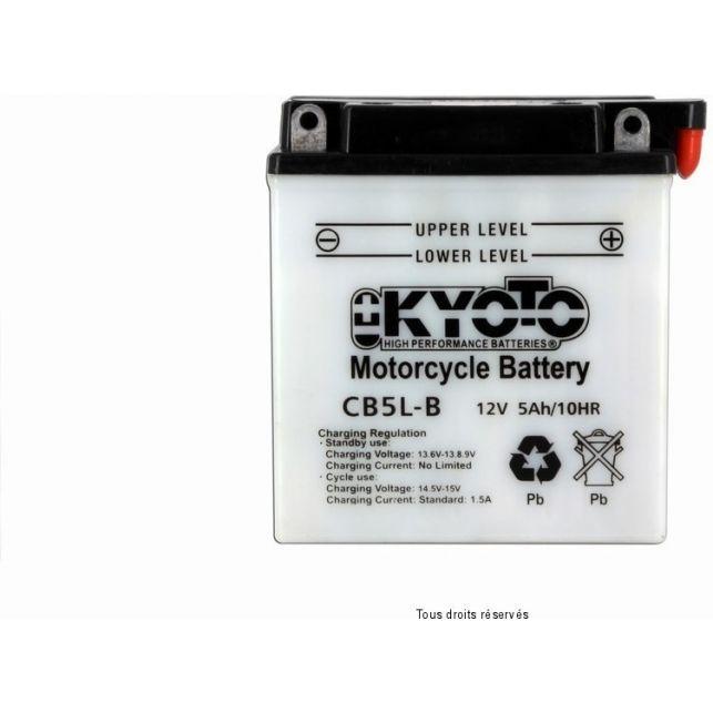 Batterie KYOTO YB5L-B avec entretien