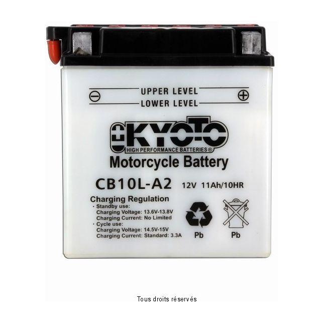 Batterie KYOTO YB10L-A2 avec entretien