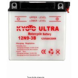 Batterie KYOTO 12N9-3B avec entretien