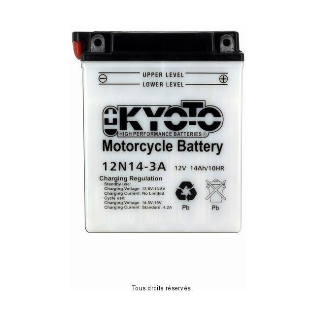 Batterie KYOTO 12N14-3A avec entretien