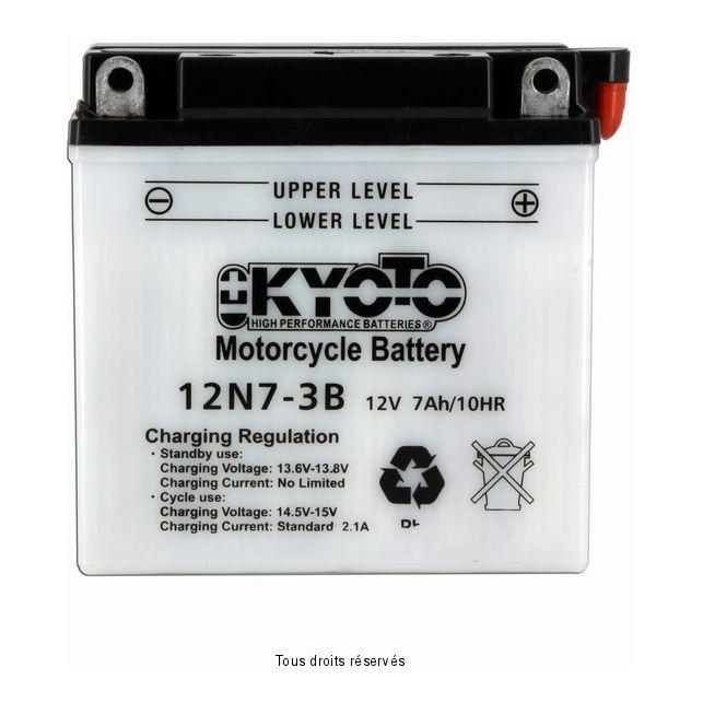 Batterie KYOTO 12N7-3B avec entretien