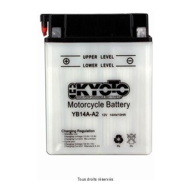 Batterie KYOTO YB14A-A2 avec entretien
