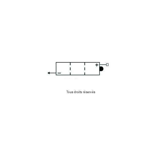 Batterie KYOTO 6N4B-2A-3 avec entretien