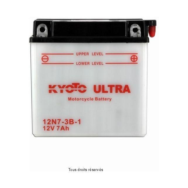 Batterie KYOTO 12N7-3B-1 avec entretien