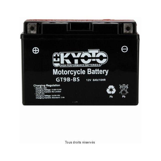 Batterie KYOTO YT9B-BS sans entretien
