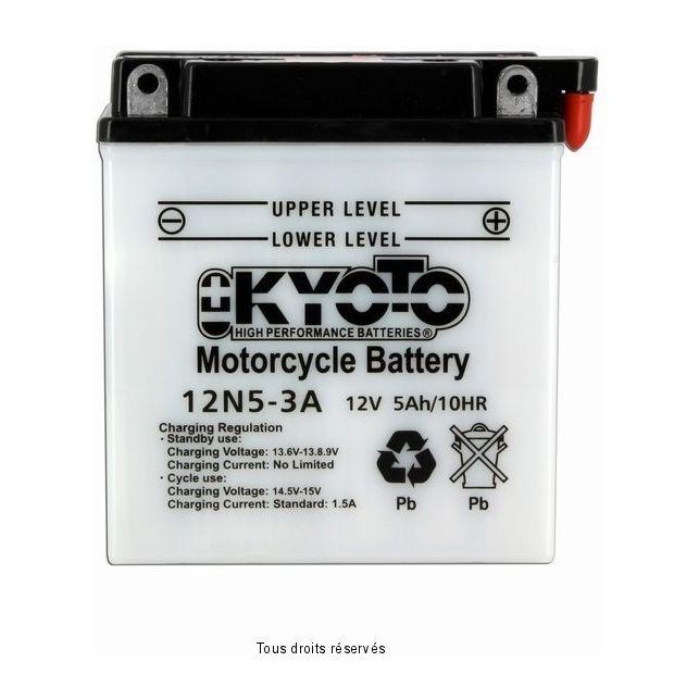 Batterie KYOTO 12N5-3A avec entretien