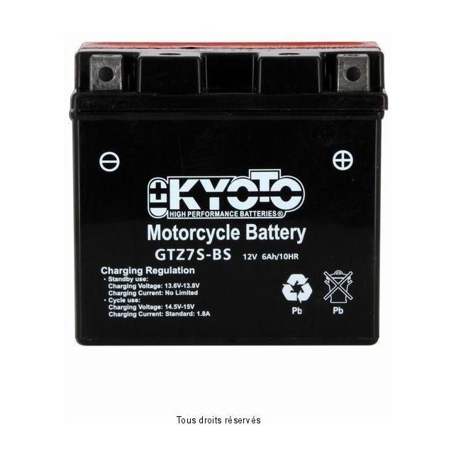 Batterie KYOTO YTZ7S-BS sans entretien