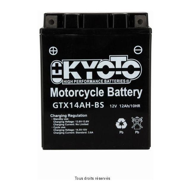 Batterie KYOTO YTX14AH-BS sans entretien
