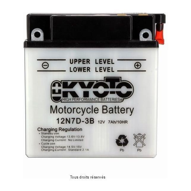 Batterie KYOTO 12N7D-3B avec entretien