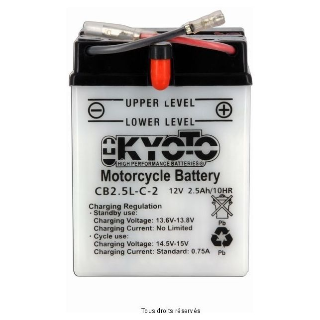 Batterie KYOTO YB2.5L-C2 avec entretien