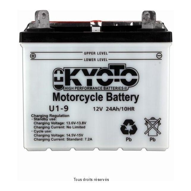 Batterie KYOTO U1-9 avec entretien